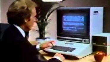 Apple II Ad mit Dick Cavett – Text Editing (1981)