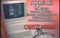 Apple IIc Ad von Computer Connections (1985)